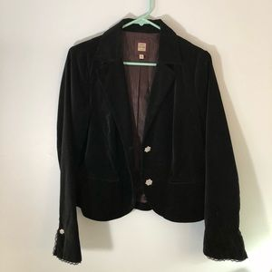 Velvety Black Jacket